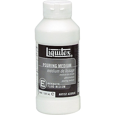 Reeves Liquitex Non-toxic 8 oz. Pouring Fluid Acrylic Medium (5408)