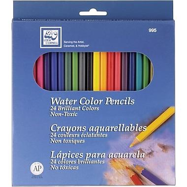 Loew-Cornell Watercolor Pencils, 24/Pkg