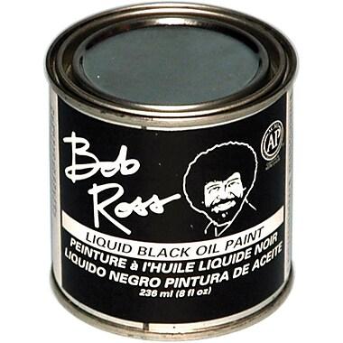 Martin/ F. Weber Bob Ross 236 ml Oil Paint, Black (R62-27)