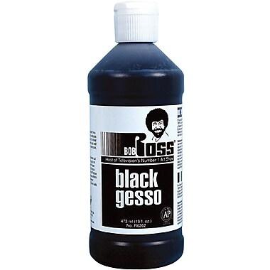 Martin/ F. Weber Bob Ross Non-toxic 16 oz. Gesso, Black (R62GESSO-62)