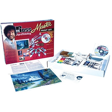 Martin/ F. Weber Bob Ross Master Paint Set, 8/Pack (R6510)