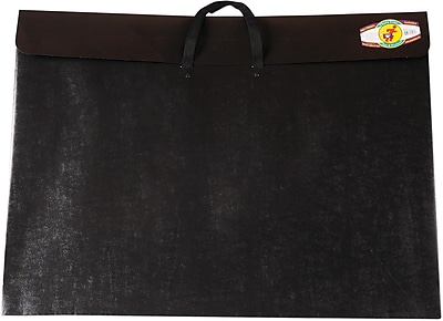 Star Products Dura-Tote Classic Black Poly Portfolio, 20