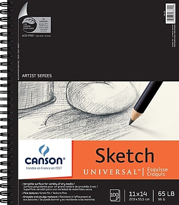 Canson Universal Sketch Book, 11