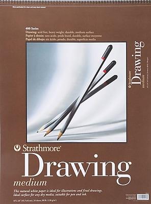 Strathmore Drawing Medium Paper Pad, 18