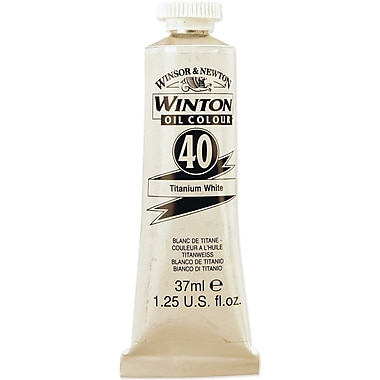 Reeves Winton Oil Paint, 200ml/Tube, Titanium White