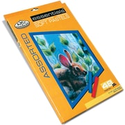Royal Brush Soft Pastels, 48/Pkg, Assorted