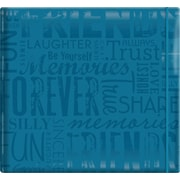 "MBI Gloss Scrapbook, 12"" x 12"", Friends-Teal"