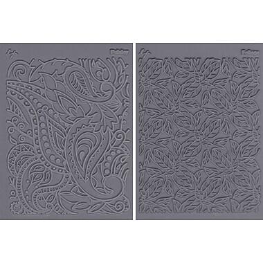 JHB Lisa Pavelka Stamp Set, 2/pkg, Flow-Foliage & Paisley