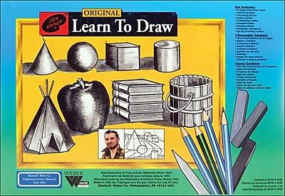 Martin/ F. Weber Jon Gnagy Learn To Draw Set