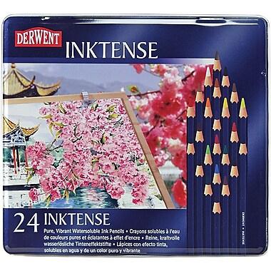 Reeves Derwent Inktense Pencil Set, 24/Tin