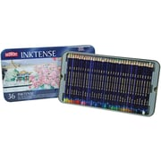 Reeves Derwent Inktense Pencil Set, 36/Tin