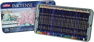 Derwent Inktense Pencil Set, 36/Tin