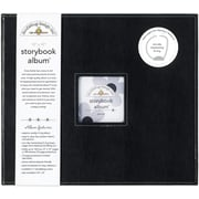 "Doodlebug Storybook Album, 12"" x 12"", Beetle Black"