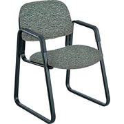 "Safco® Cava® Urth™ Collection Guest Chair, Fabric, Gray, Seat: 20""W x 18""D, Back: 20""W x 14""H"