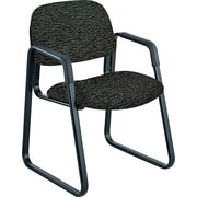 Safco Cava Urth Steel Guest Chair, Black (7047BL)