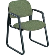 Safco Cava Urth Steel Guest Chair, Green (7047GN)