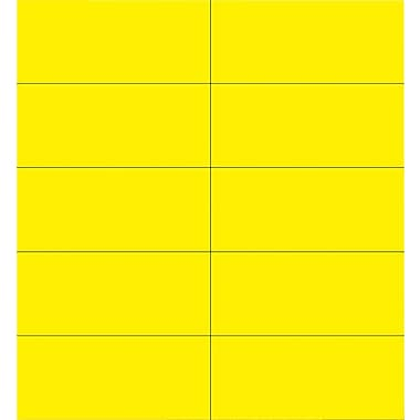 MasterVision® Dry-Erase Magnetic Tape Strip, Yellow