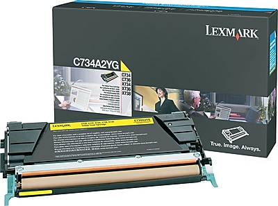 Lexmark Yellow Toner Cartridge (C734A2YG)