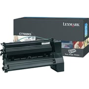 Lexmark C770 Black Toner Cartridge (C7702KS), Standard