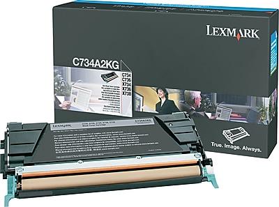 Lexmark Black Toner Cartridge (C734A2KG)