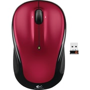 Logitech M325 Wireless Mouse, Red