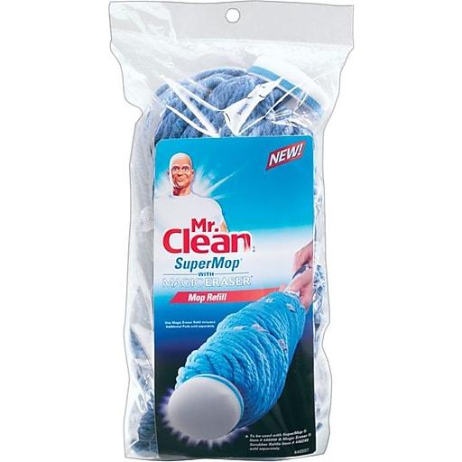 Mr Clean Super Twist Mop Magic Eraser Cotton Refill Staples