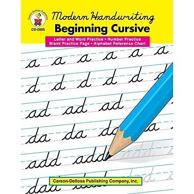 Carson-Dellosa Modern Handwriting: Beginning Cursive Resource Book