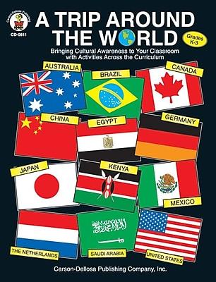 Carson-Dellosa A Trip Around the World Resource Book