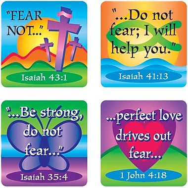 Carson-Dellosa Fear Not Verses Stickers