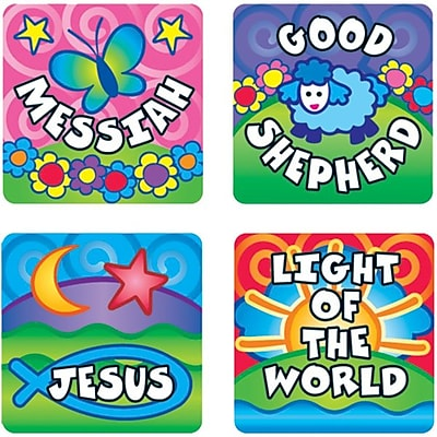 Names of God Stickers, 120/Pk