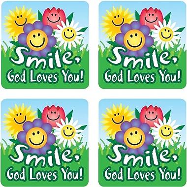 Carson-Dellosa Smile, God Loves You! Stickers