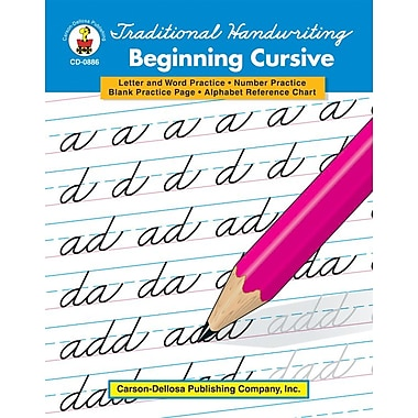 Carson-Dellosa Traditional Handwriting: Beginning Cursive Resource Book