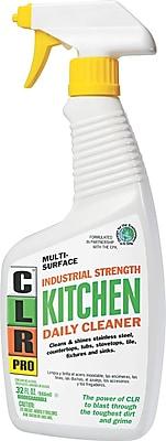 CLR PRO Kitchen Daily Cleaner, Light Lavender, 32 oz. Pump Dispenser