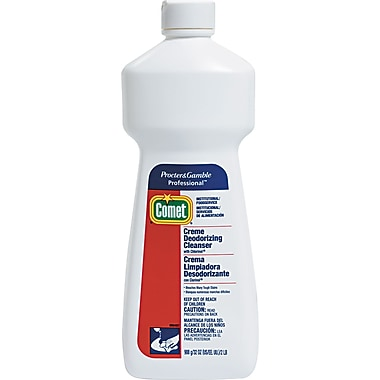 Comet® Creme Deodorizing Cleanser, Light Scent, 32 oz., 9/Case