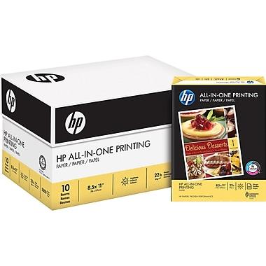 HP® - Papier multi-usages, 22 lb, 8 1/2 po x 11 po, boîte