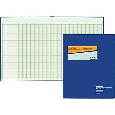 Blueline® A1740 Columnar Book, A1740-20, 20 Columns