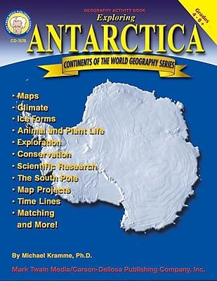 Mark Twain Exploring Antarctica Resource Book, Grades 4 - 8+