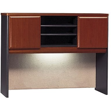 "Bush® Cubix Collection 48"" hutch, Hansen cherry"