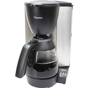 Capresso Programmable Coffee Maker with Glass Carafe, 10-Cup