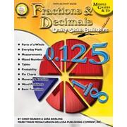 Mark Twain Fractions & Decimals Resource Book
