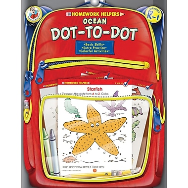 Frank Schaffer Ocean Dot-to-Dot Workbook