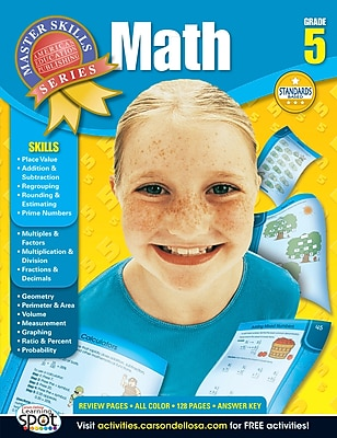American Education Math Workbook, Grade 5