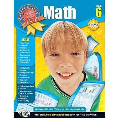 American Education Math Workbook, Grade 6
