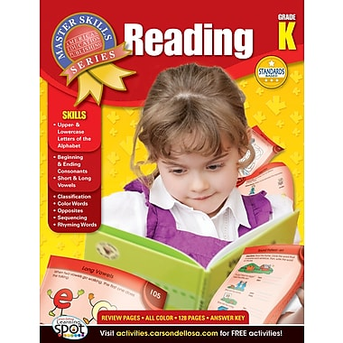 American Education Reading Workbook, Grade K