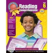 American Education Reading Comprehension Workbook, Grade 6