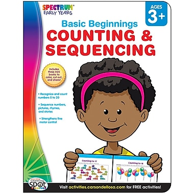 Spectrum Counting & Sequencing Activity Book