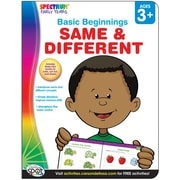 Spectrum Same & Different Activity Book