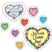 Carson-Dellosa Jesus Loves Me! Shape Stickers, 108 Stickers
