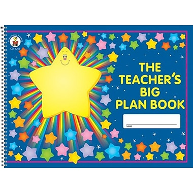 Carson-Dellosa The Teacher's Big Plan Book (8205)