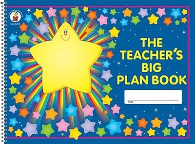 Carson-Dellosa The Teacher's Big Plan Book